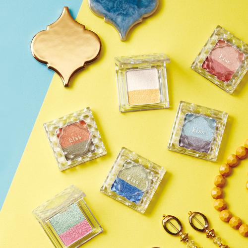 カラー&輝きで目元を楽しく遊ぶアイカラー発売